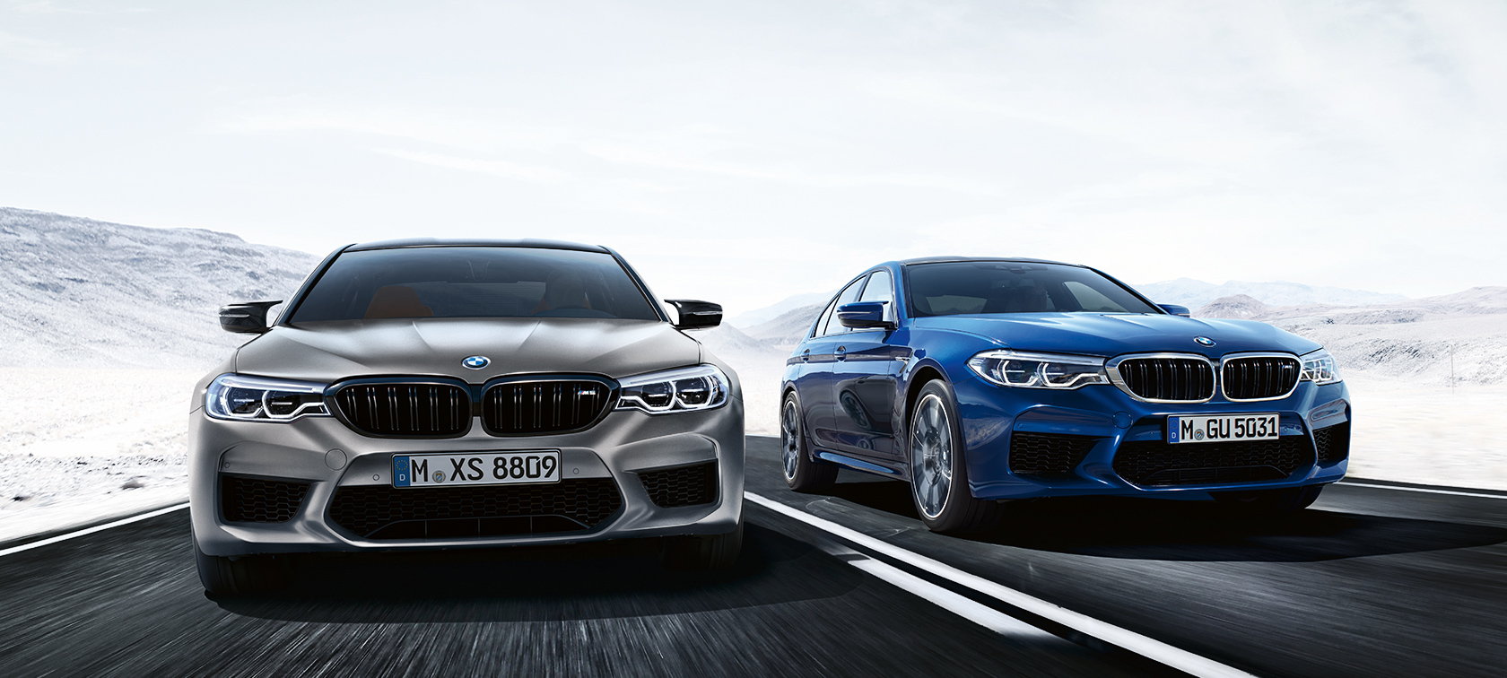 The BMW M5 With M xDrive.