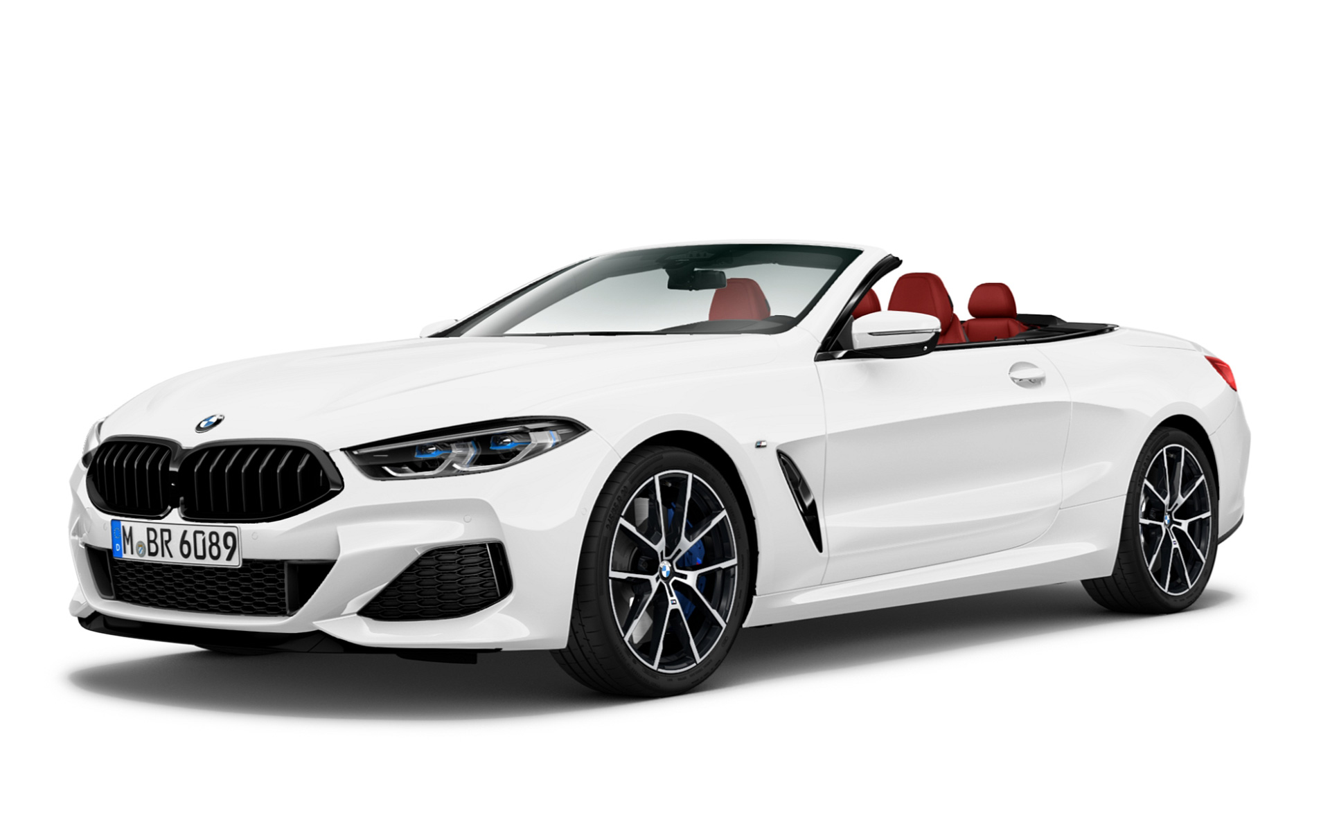 M850i xDrive Convertible - Mineral White