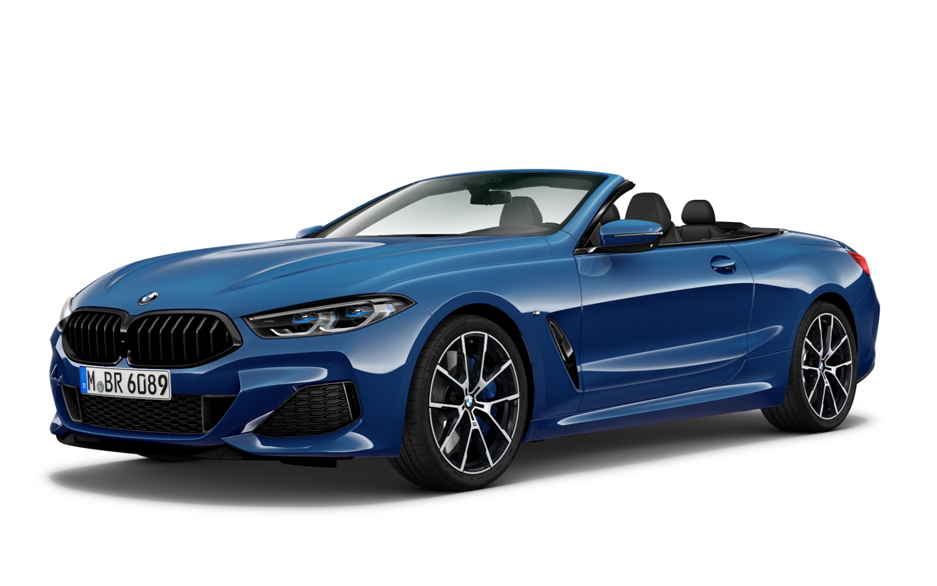 M850i xDrive Convertible - Sonic Speed Blue