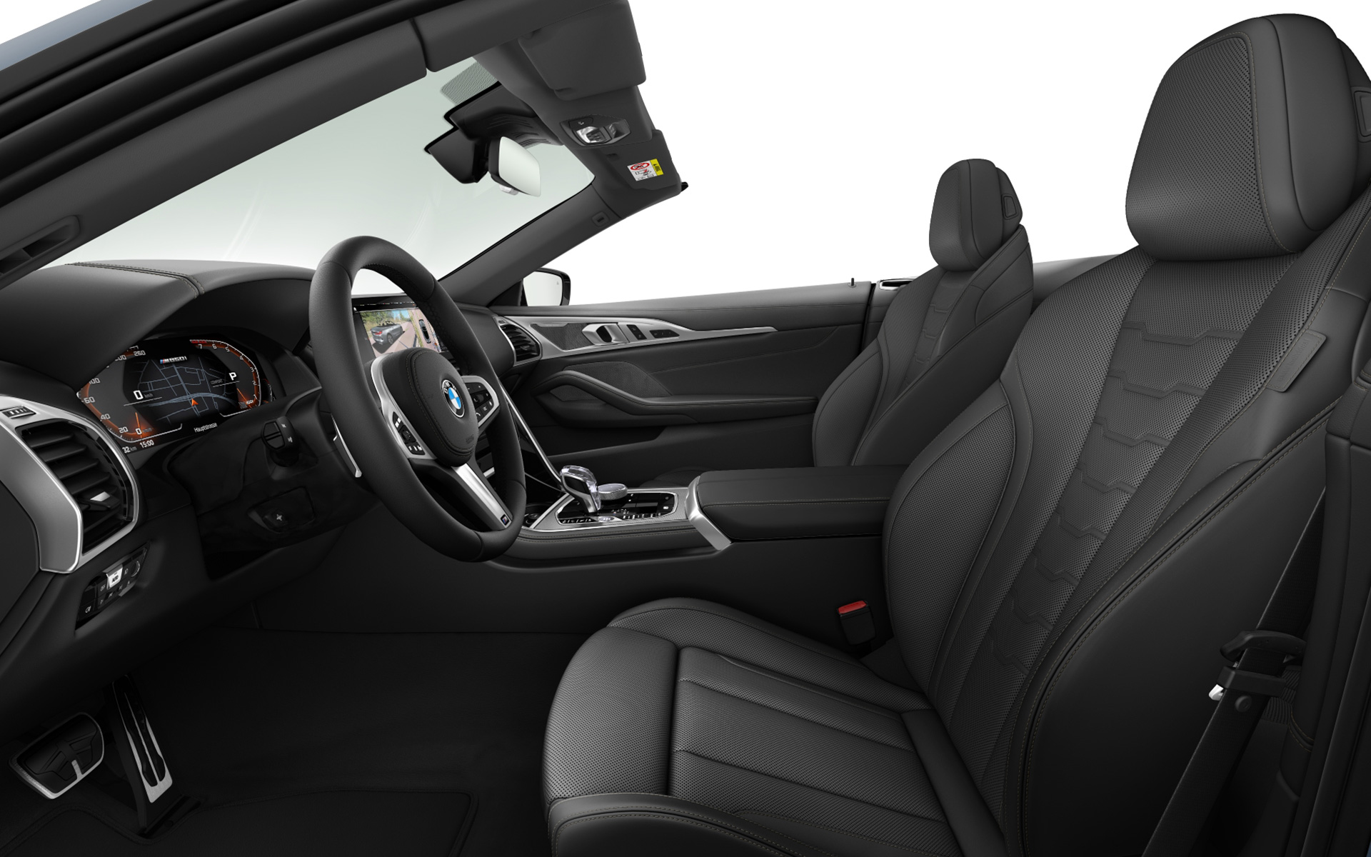 BMW Individual extended leather trim Merino Black | Black
