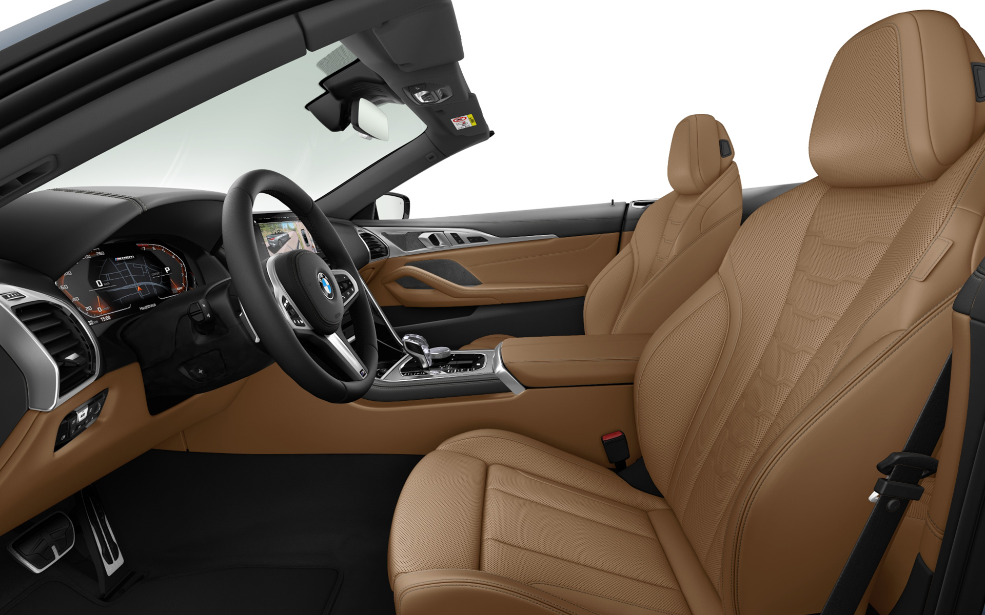 BMW Individual extended leather trim Merino Cognac | Black
