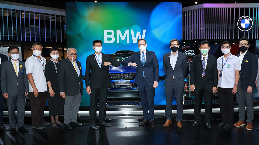 Deputy Public Health Minister visits BMW booth at Motor Show 2020